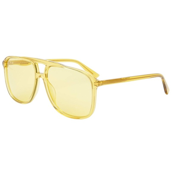 836ed9efa3 Gucci Urban Sunglasses 0262S Yellow Frame